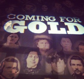 The Oakland Museum's Gold Rush exhibit. (Caitlin Esch/KQED)