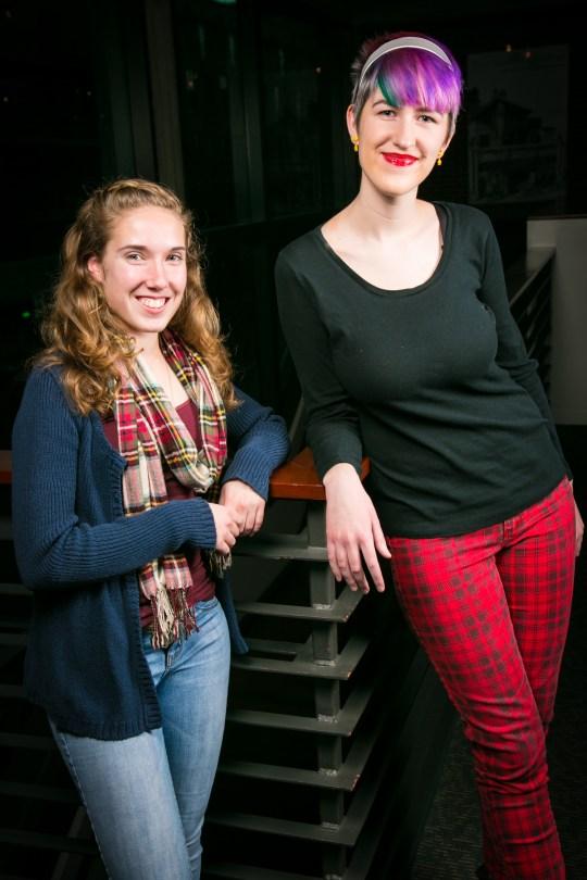 Sophia Canna-Bowman (left) and Frances Maples (Berkeley Repertory Theatre)