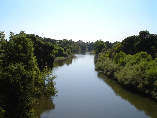 The state is deciding how much freshwater should flow into the Delta from tributaries like the Tuolumne River.(Photo: NWS)