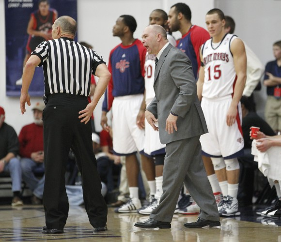 St. Mary's Head Coach Randy Bennett, in action last year. (AP/Only A Game)