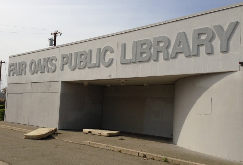 Stockton closed its Fair Oaks library branch in 2010, to save money