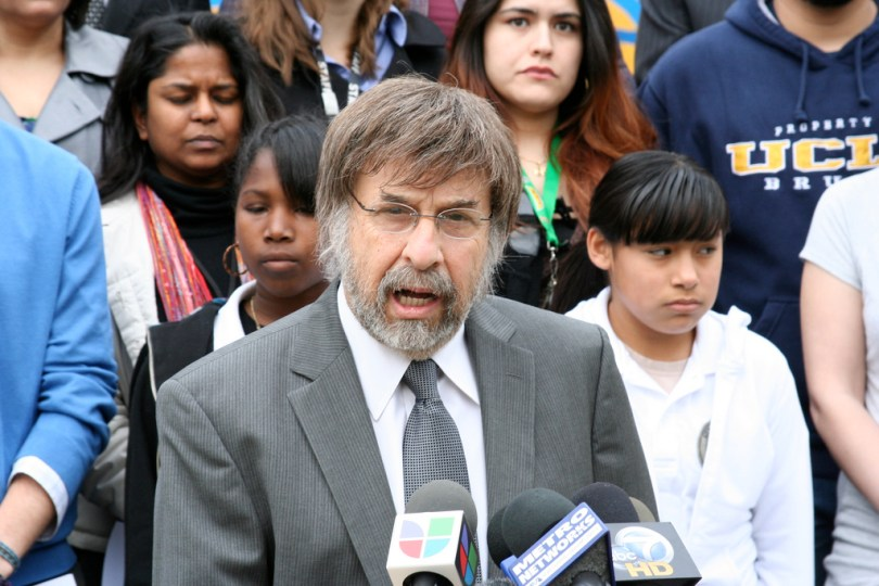 Mark Rosenbaum of the ACLU of Southern California is spearheading the lawsuit against state education officials (ACLU-SC/Flickr)