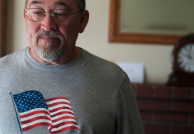 Navy veteran Wallace Watson of Fremont, Calif., applied for veteran disability benefits in September 2010 and recently got an exam. (Erik Verduzco/Center for Investigative Reporting)
