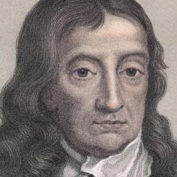 The poet John Milton--not born in San Mateo County.