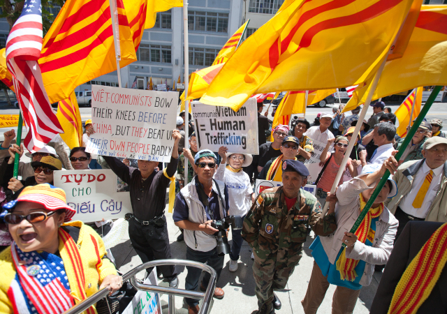 vietnamese protest