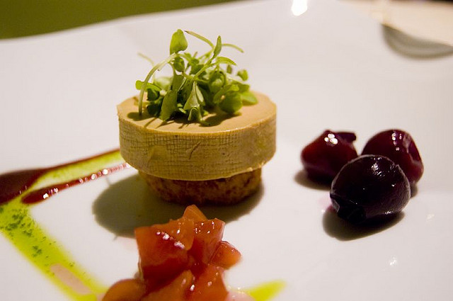 Foie gras, made from the livers of ducks that have been force-fed, is considered a delicacy by some. (ulterior epicure / Flickr)