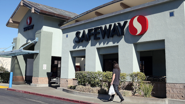 A Safeway in San Rafael.(Justin Sullivan/Getty Images)