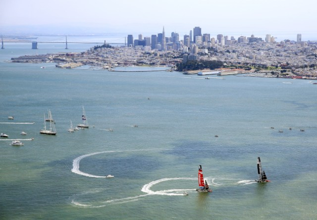 America's Cup - Finals Races 5 & 6