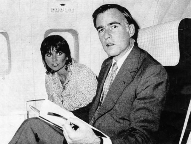 Jerry Brown and Linda Ronstadt in 1979. (UPI/Sacramento Bee Capitol Alert)