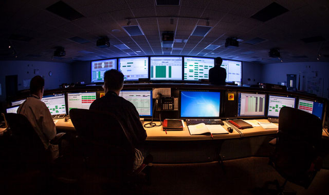 National Ignition Facility control room at Lawrence Livermore National Laboratory. (Courtesy LLNL)