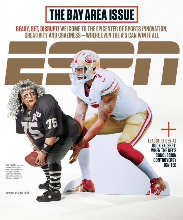 ESPN The Magazine's Bay Area cover. Photo: Courtesy of ESPN The Magazine