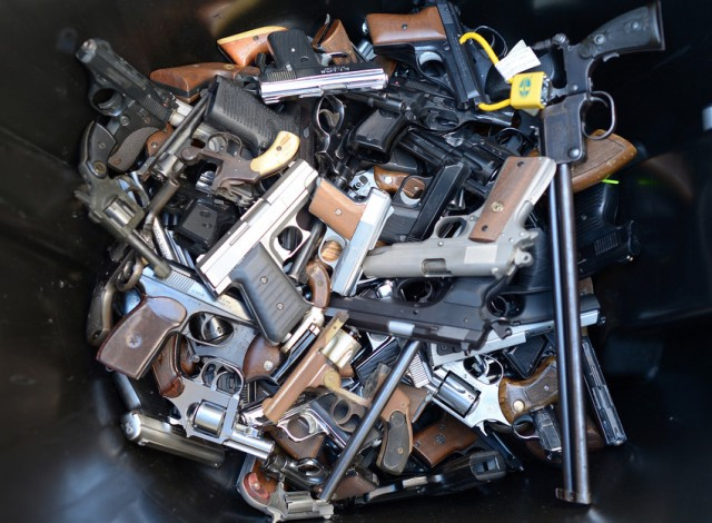 Are California gun laws strict enough? Or are there already too many restrictions? (Joe Klamar/AFP-Getty Images)