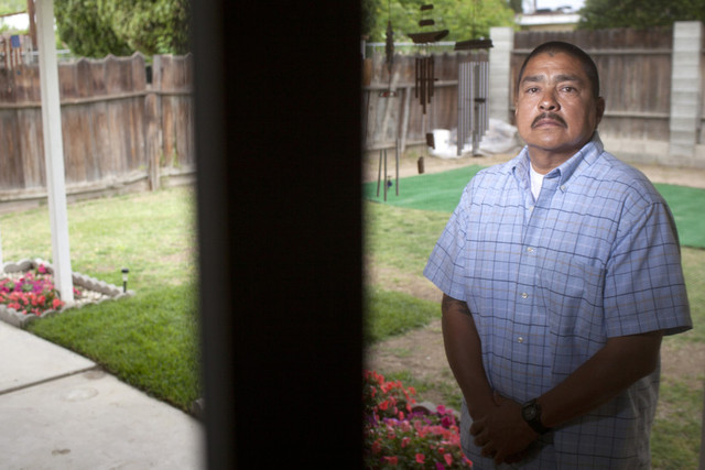 Pete Marin, 52, served 18 years for petty theft under California's 1994 Three Strikes law. (Adithya Sambamurthy/KQED)