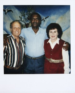 From left: Minard Roorda,  Richard Brown and Vivian Roorda