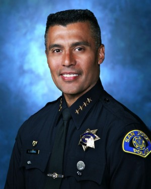 Larry Esquivel, San Jose's new police chief. (San Jose Police Department)
