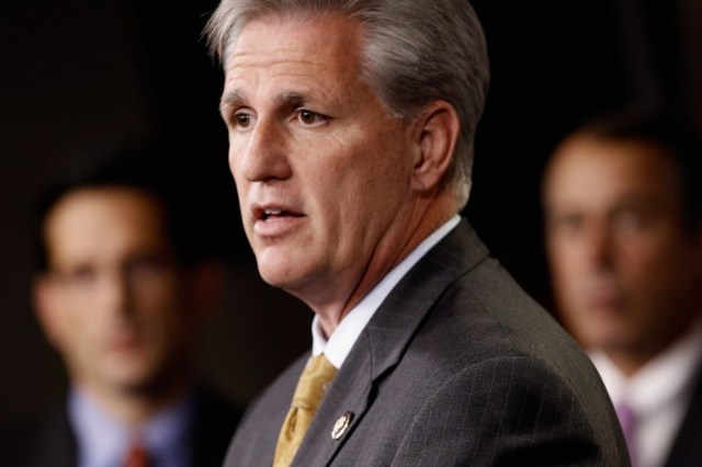 Rep. Kevin McCarthy, a Republican from Bakersfield and House majority whip, says he'd favor a path to some form of legalization for undocumented immigrants, but not citizenship. (Chip Somodevilla/Getty Images)