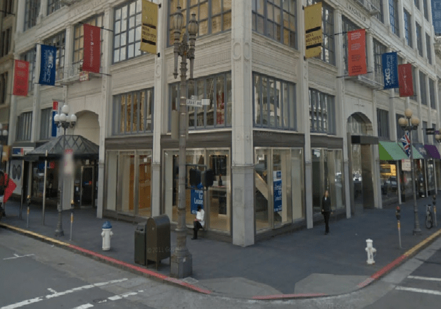 77 Geary Street, home of several art galleries displaced by a technology firm. (Google Maps)