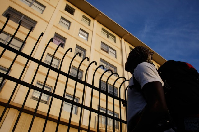 The Hacienda public housing complex in Richmond.  (Lacy Atkins/San Francisco Chronicle)