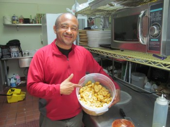 Fried plantains are popular in many African countries. (Stephanie Martin Taylor/KQED)