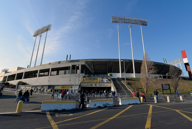 The Coliseum has had multiple sewage problems in the past year. (Thearon W. Henderson/Getty Images)