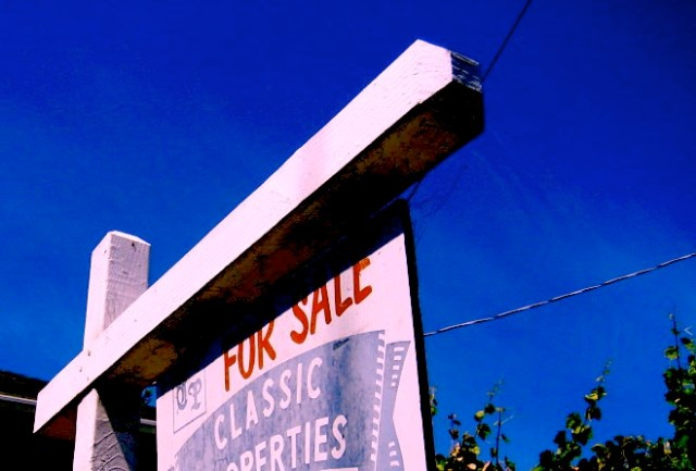 For sale sign in Oakland. (Oakland Local)