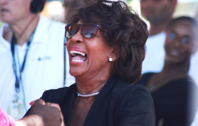 Congresswoman Maxine Waters was among the celebrants at Saturday's 49th Watts Summer Festival. Waters represents the Watts area.
