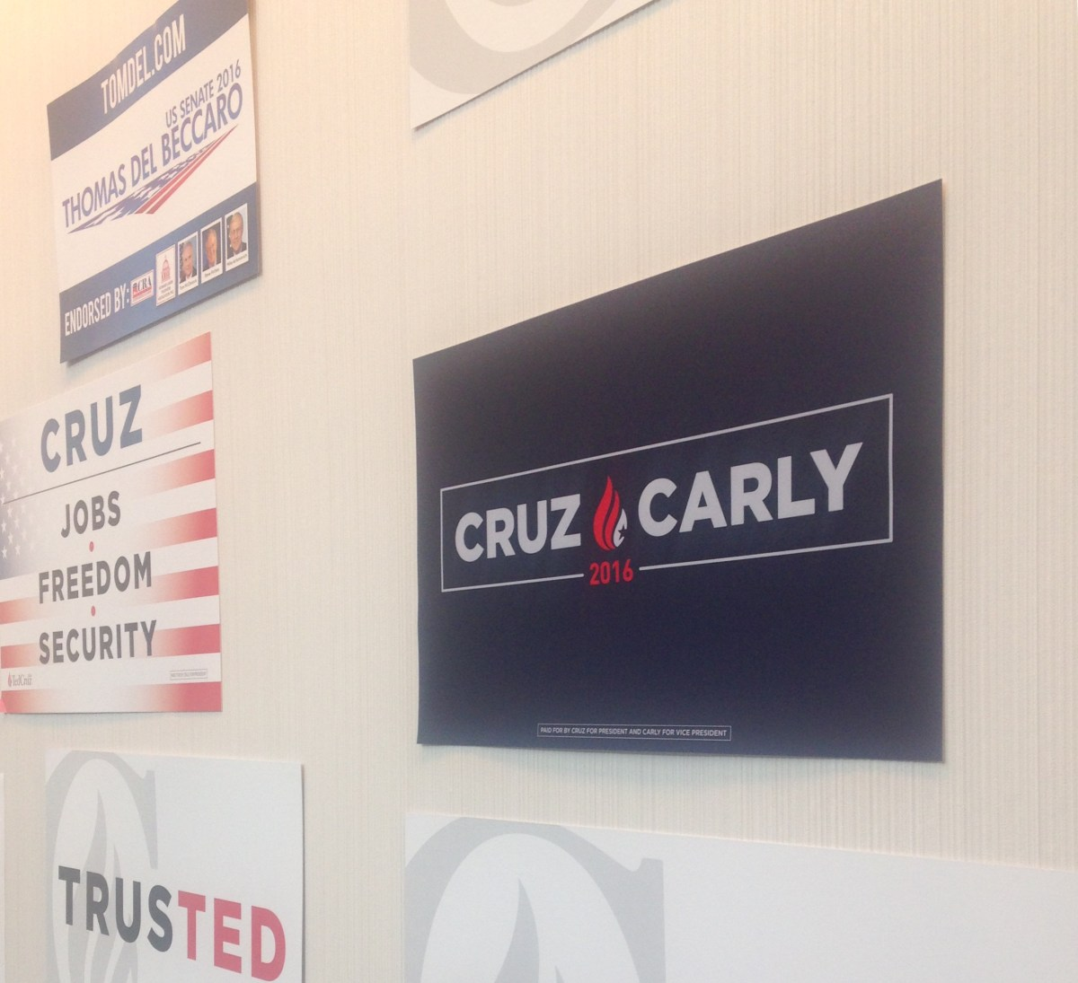 Carly Fiorina Returns to California to Boost Ted Cruz