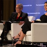 Kim Kardashian Talks Gun Control, Feminism and Everything Else at Commonwealth Club Event