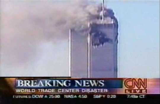 Coverage Of Events Unfolding During 911 On Sept 11 2001 Photo CNN.9 11 News Coverage Video