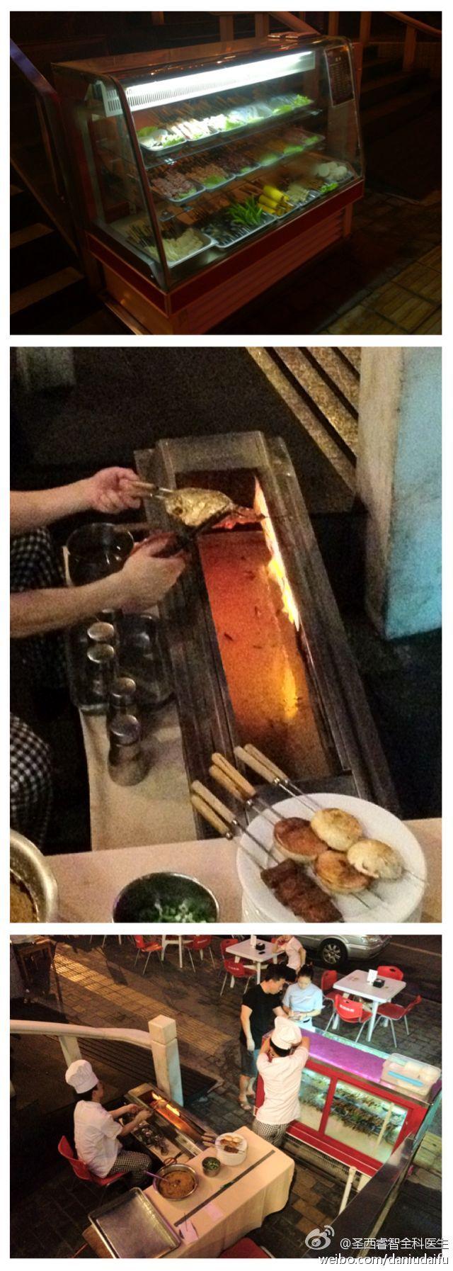 Meizhou Dongpo 眉洲东坡, food safety, BBQ, 串肉