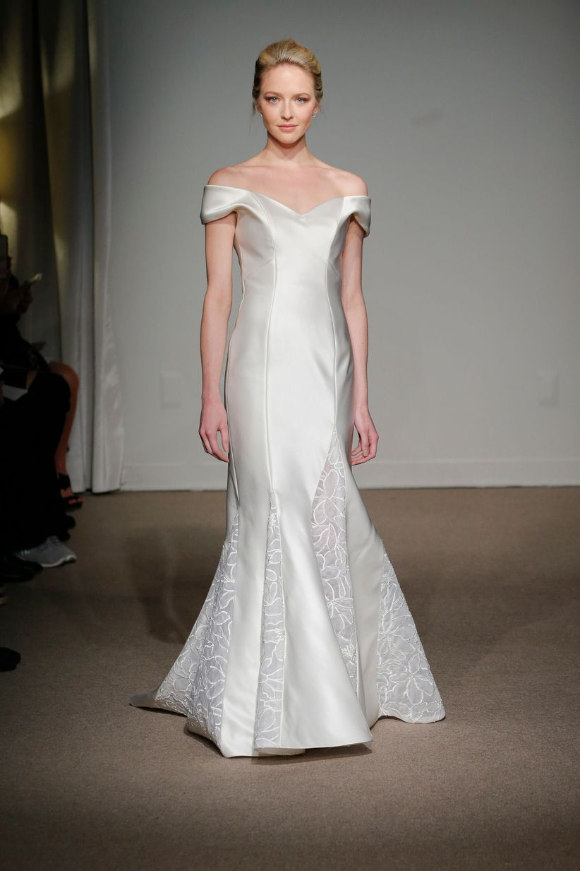 Fullsize Of Too Much Cleavage Wedding Dress