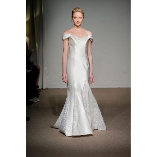 Medium Crop Of Too Much Cleavage Wedding Dress