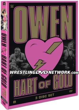 WWE Owen: Hart of Gold DVD - Cover Artwork