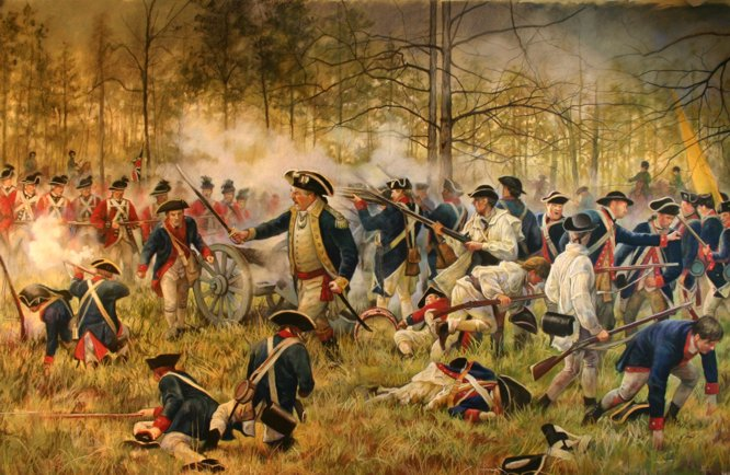 American_Revolution_Battle_Wide