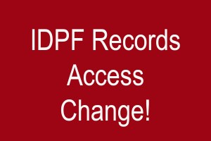 IDPF Records Access Change