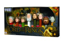 The Lord of the Rings Pez Set