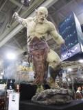 Azog at Weta booth, Salt Lake Comic Con 2013