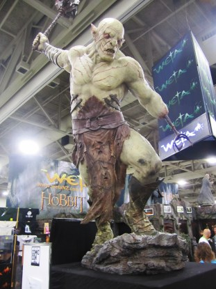 Azog at Weta booth, Salt Lake Comic Con 2013