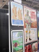 Posters for sale at SLCC, 2013