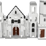 Minas Tirith Citadel front close up