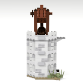 Minas Tirith update horse tower front