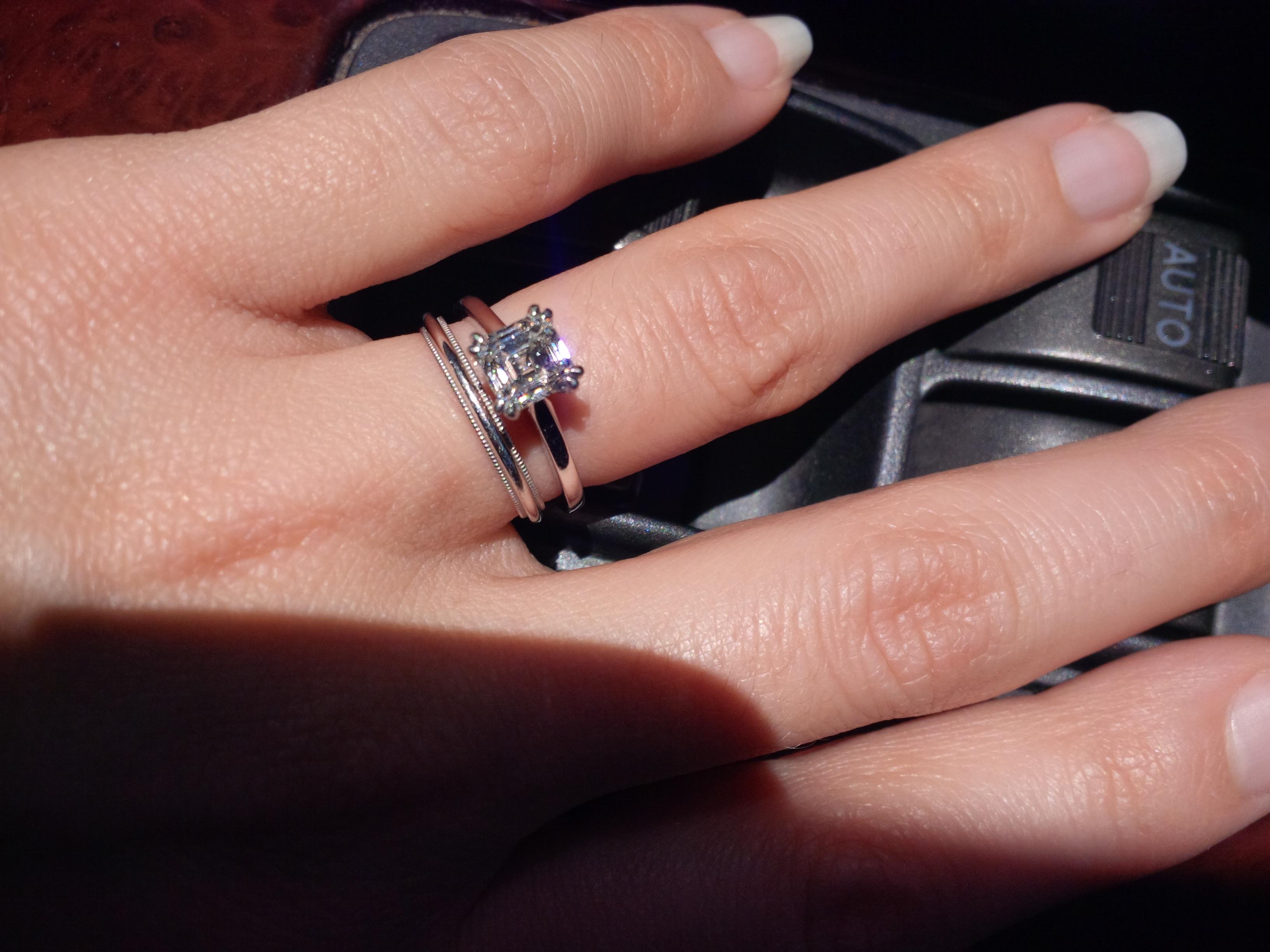 please share your milgrain detailed e rings thx u milgrain wedding band Post 8