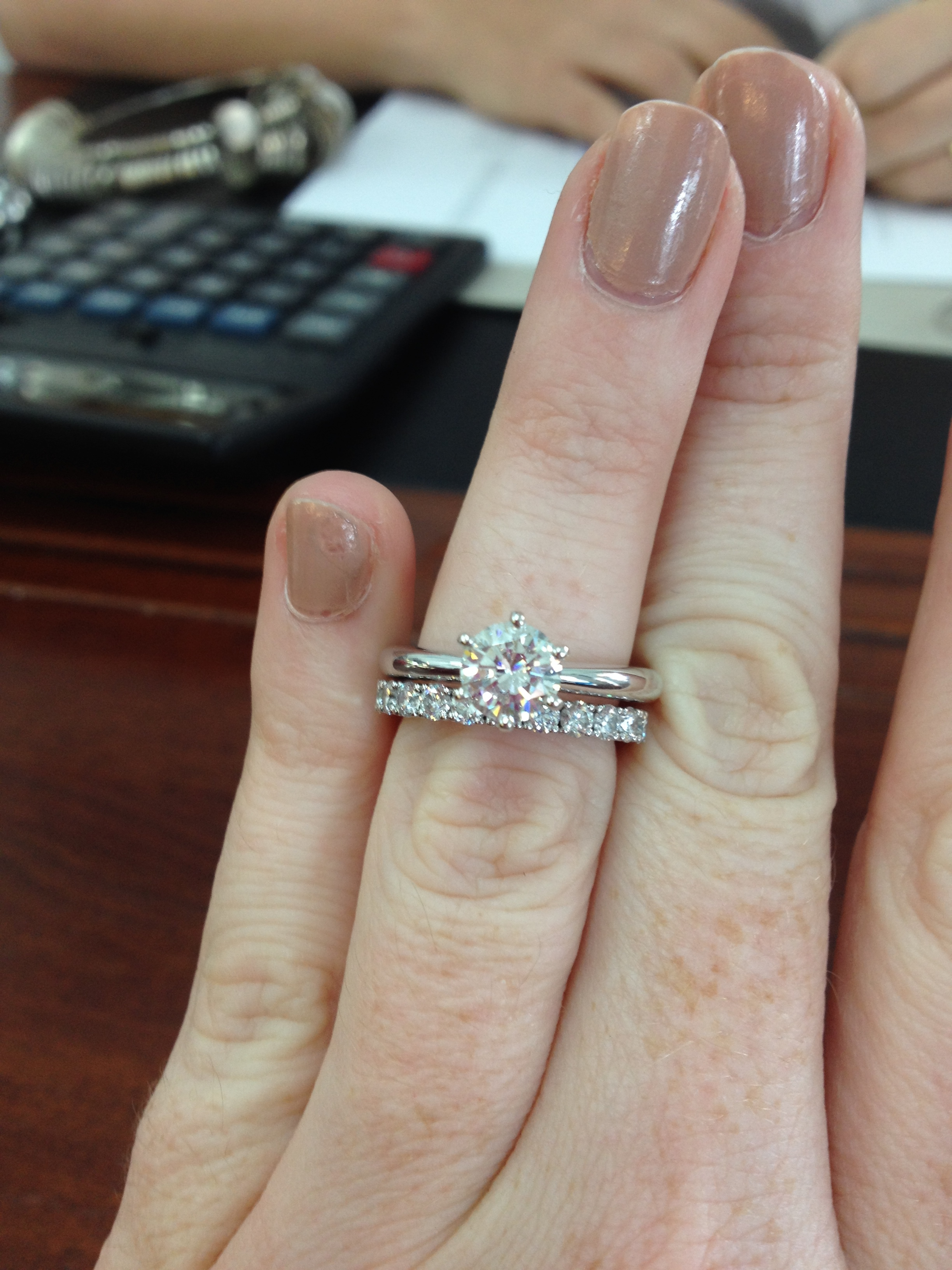 solitaire engagement ring bees show me your wedding bands wedding ring band