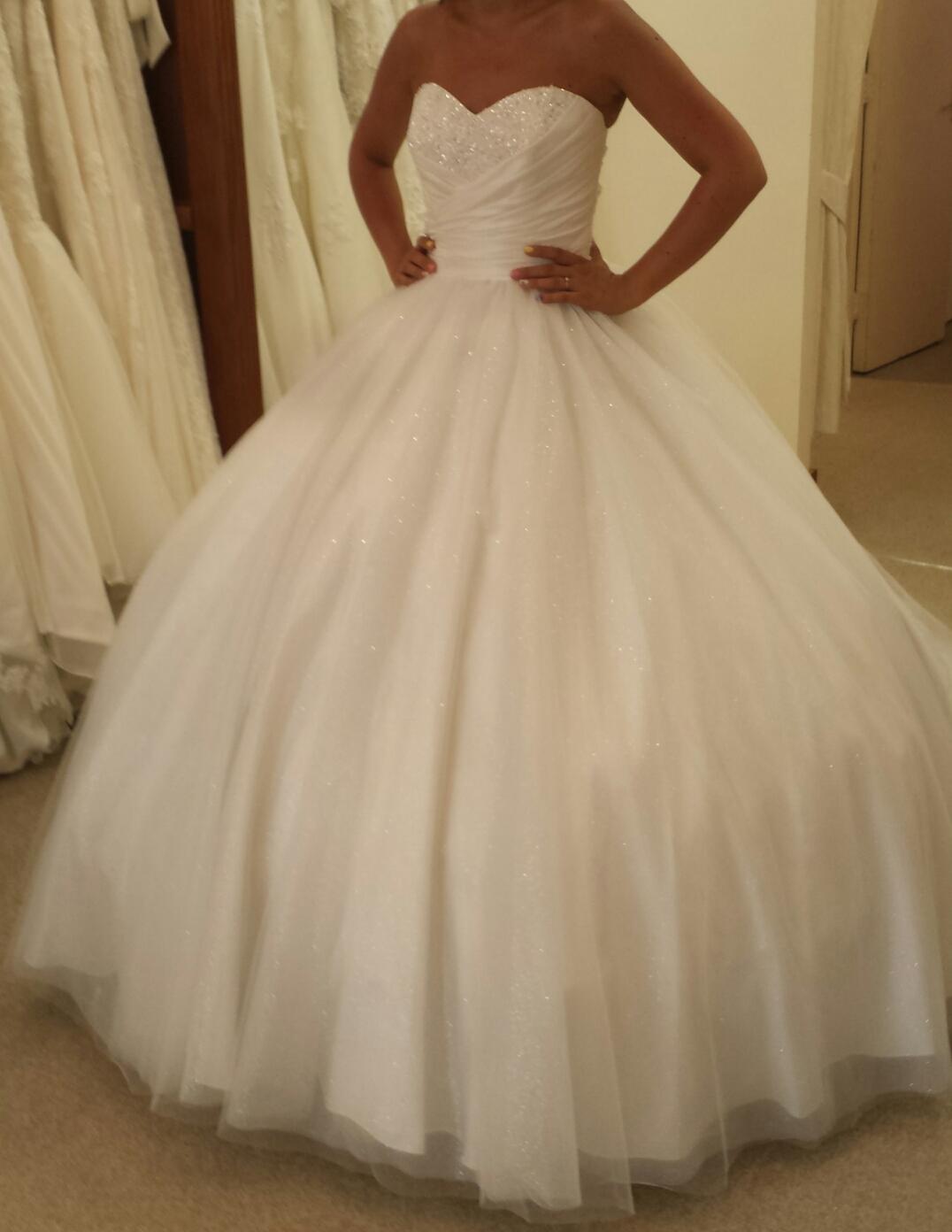 my big poofy alfred angelo cinderella wedding dress cinderella style wedding dress My big poofy alfred angelo cinderella wedding dress