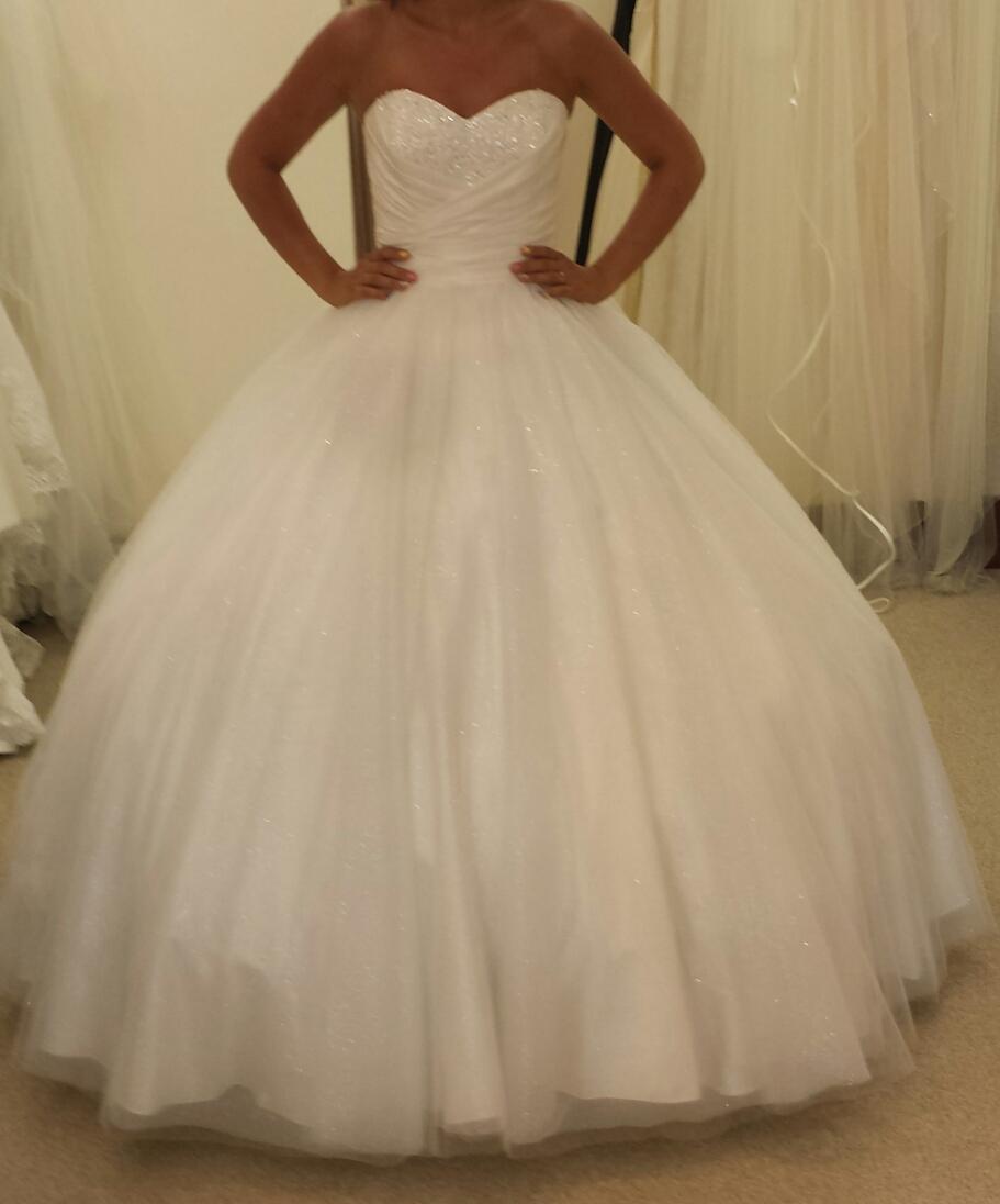 my big poofy alfred angelo cinderella wedding dress big wedding dresses My big poofy alfred angelo cinderella wedding dress
