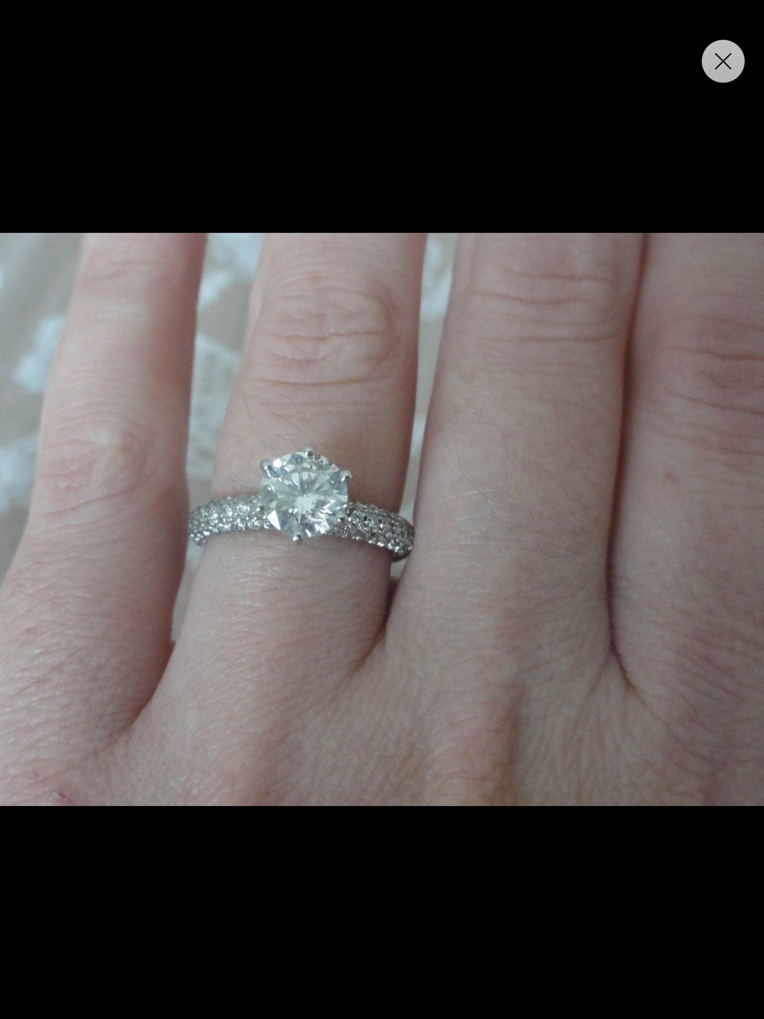 dont know what style wedding band to go with my micro pave ering help please pave diamond wedding band Tagged Micro pave ering wedding bands