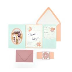 Small Crop Of Standard Wedding Invitation Size