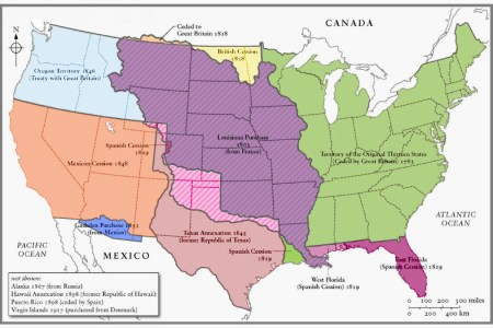 map american expansion u.s.a. and gran colombia | the