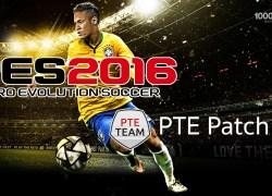 Final Transfer Update for PTE Patch 7.0 สำหรับ PES 2016 ดาวน์โหลดได้ที่นี่