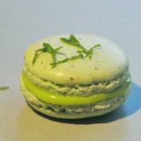 Makroner med lime